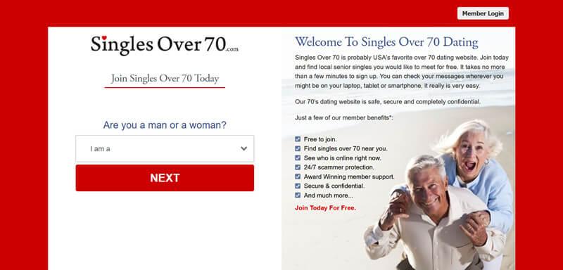 singles over 70
